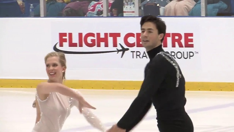 Kaitlyn WEAVER Andrew POJE CAN Free Dance Autumn Classic International 2018
