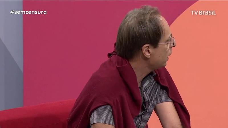 [Sem Censura] · Em apoio aos grevistas da EBC, Pedro Cardoso se retira do programa