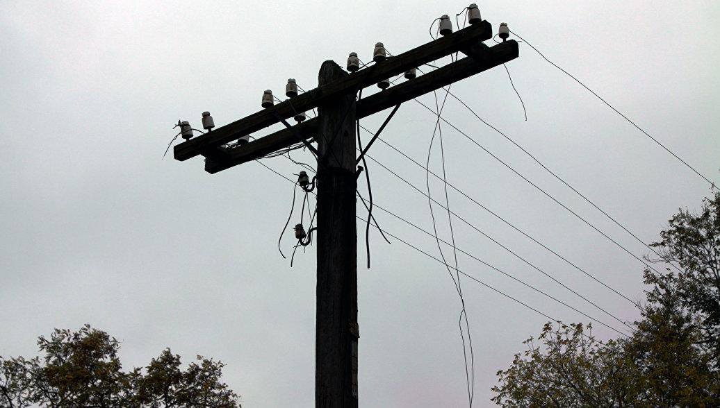 На Донбассе возобновили электроснабжение после обстрелов