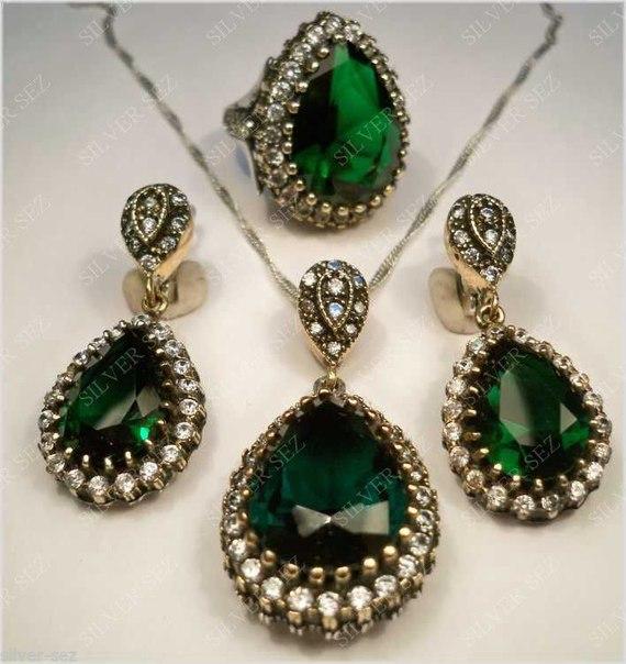 ювелирные изделия из серебра с сердоликом