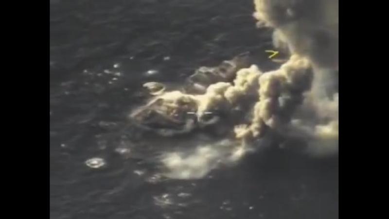 Сирия, 15 апреля. Су-30СМ поражает мишень