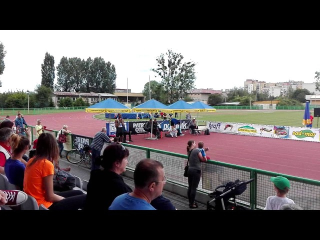 Mutaz Essa Barshim 2.40m. Stadium record Opole