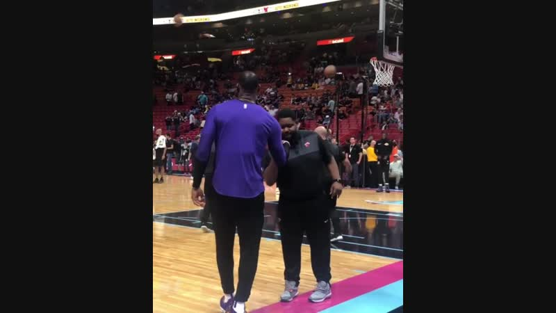 LeBron still remembers his secret handshake with a Miami Heat assistant from 4 years ago
