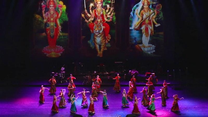 Dandiya Raas. Kremlin Palaсe. Lila Prem dance group.