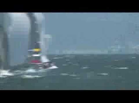 Ronstan Aussie 18 Skiff Carnage
