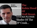 Must Watch STOCKS PLUNGE Shades Of The 1929 Crash By Gregory Mannarino