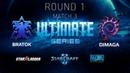 2018 Ultimate Series Season 1 — Round 1 Match 3: BratOK (T) vs DIMAGA (Z)
