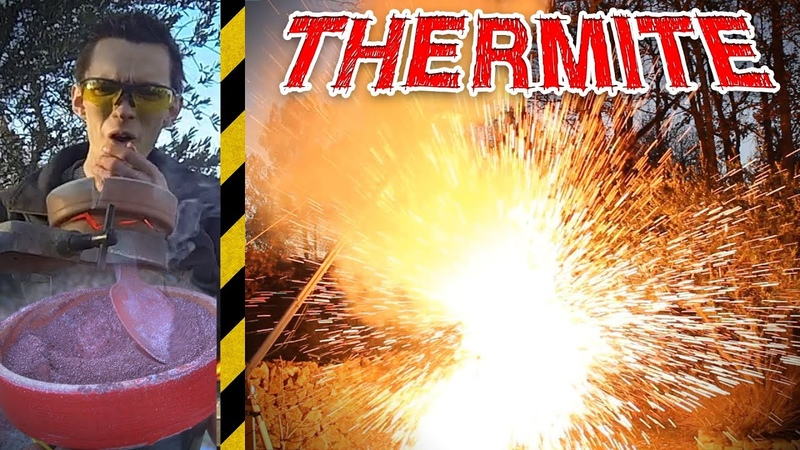 THERMITE Combustion à 2200°C ! - [Science 2.0]