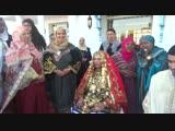 جربة_ الفنانة جواهر فى عشوية مع التراث و العرس الجربي التقليدي (1)