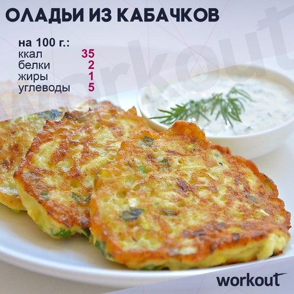 Рецепт диетических оладьев из кабачков с пошагово