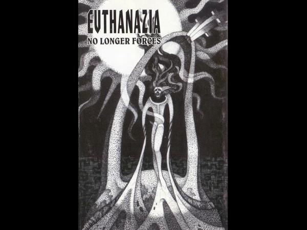 MetalRus.ru (Death Metal). EVTHANAZIA - «No Longer Forces» (1997) [Full Album]