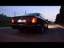 BMW E34 535i Exhaust Sound Acceleration Stock M30B35