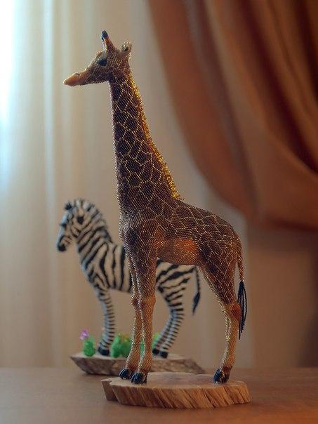 Животные из бисера от Zhanna Vasilieva