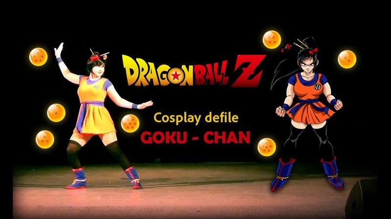 Cosplay defile Goku-chan ~Dragon Ball Z~
