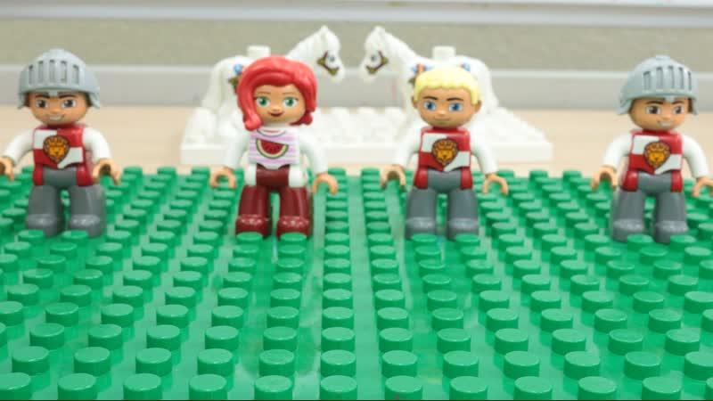 Лего-ролик. Проба первая.