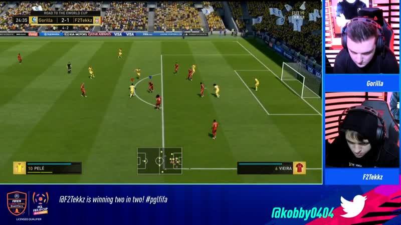 [FIFA Maincast] Gorilla vs F2Tekkz | PGL FIFA 19 CUP | Официальная русскоязычная трансляция