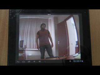 Видеонаблюдение через интернет ПО Macroscop для Android