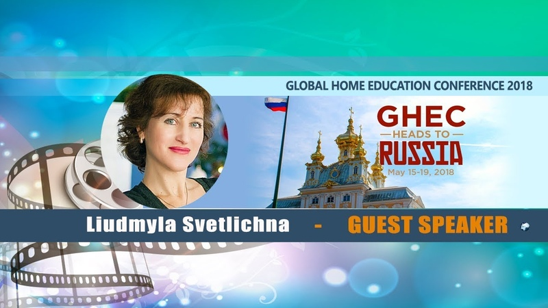 Liudmyla Svetlichna - Guest Speaker at GHE Conference, May 2018