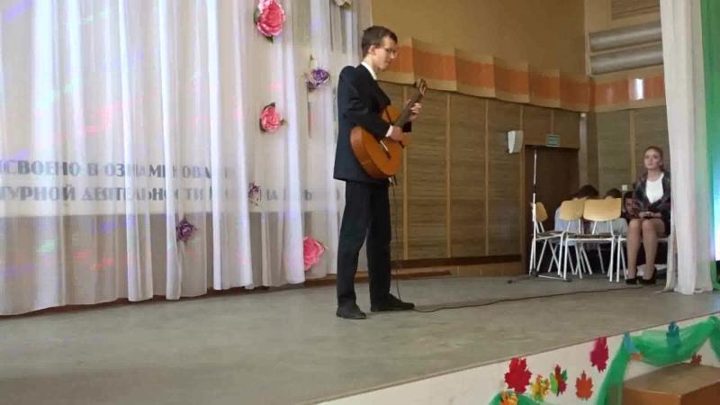 Нино Рота - музыка из Крёстного отца на гитаре