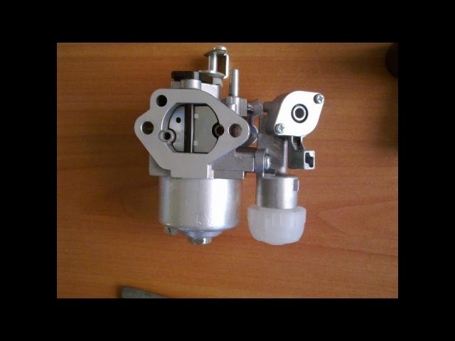 Чистка промывка карбюратора от мотоблока Нева мб23