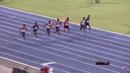 Zharnel Hughes wins mens 100m 9.91 PB WL Racers Grand Prix 2018