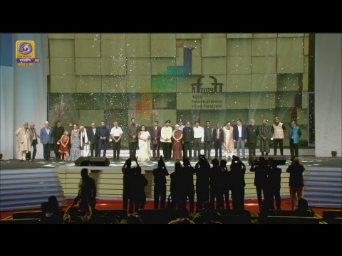 Closing Ceremony of the International Film Festival of India (IFFI) 2018 – Live