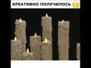 парящие свечи своими руками