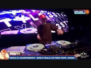 Dj worm - red bull music 3style 2019 taiwan