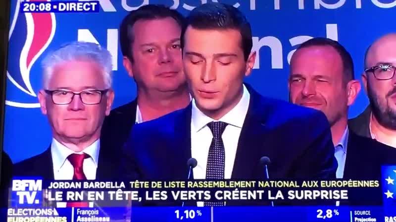 JordanBardella ... la France patriote te remercie !! Emmanuel Macron a voulu jouer... il a perdu