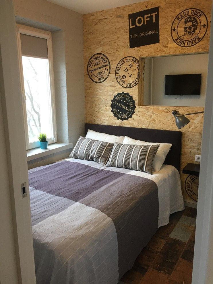 Маленькая квартира в стиле лофт
