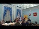 Выступление министра культуры и туризма Удмуртии