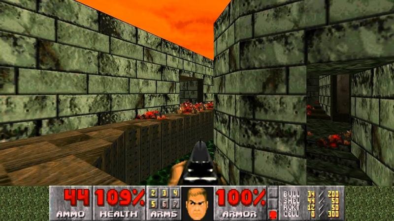Trials of a Doomgod: Ultimate Doom - E4M1 Hell Beneath - UV-Max, No Damage/Reality