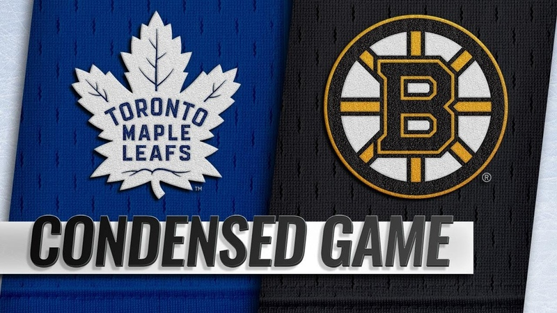 111018 Condensed Game Maple Leafs @ Bruins