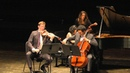 Horszowski Trio LIVE -- Schubert Trio No. 2 in E-flat, Op. 100, D. 929