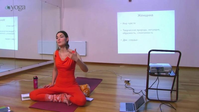 Юлия Синявская Курс по йоге и йогатерапии для женщин