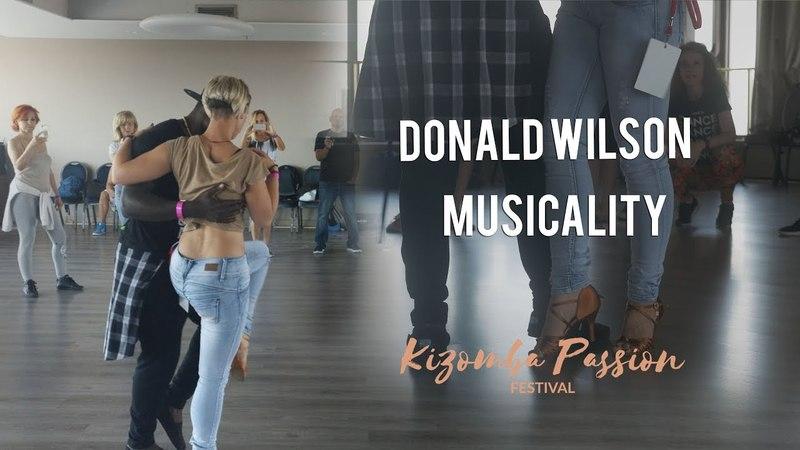 Donald Wilson - Musicality - Zagreb Kizomba Passion 2018