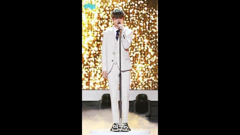 180609 The Heal - Sandglass (Seongwoo FanCam) @ Show! Music Core