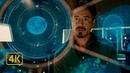 Тони Старк переоткрывает новый химический элемент открытый его отцом. Железный человек 2 (2010)