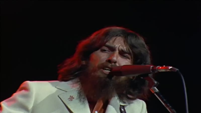 George Harrison - While My Guitar Gently Weeps (The Concert For Bangla Desh. Live At Madison Square Garden In New York 01.08.197