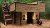 Building The Most Beautiful Enchanting Villa By Ancient Skill