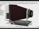 Modeling of the old camera by Joshua Siebert Tools Used Autodesk Fusion 360 3D@industrial.design