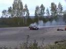 Volvo 740 Turbo Drifting.