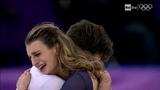 Gabriella PAPADAKIS &amp Guillaume CIZERON FRA Free Dance 2018 Olympic Games Raisport