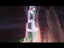 Дубай Новый 2018 год Башня Бурдж Халифа