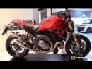 2018 Ducati Monster 1200 S CNC Racing Accessorized Walkaround 2017 EICMA