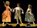 Baroque Ballet Mozart's Les Petits Riens Excerpt 3 Le Jeu de Colin Maillard