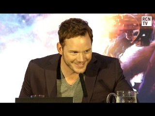Chris Pratt Wants To Kill Iron Man - Guardians of the Galaxy Premiere