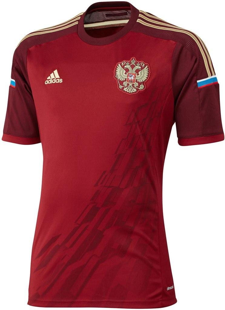Представлена форма сборной России на ЧМ-2014
