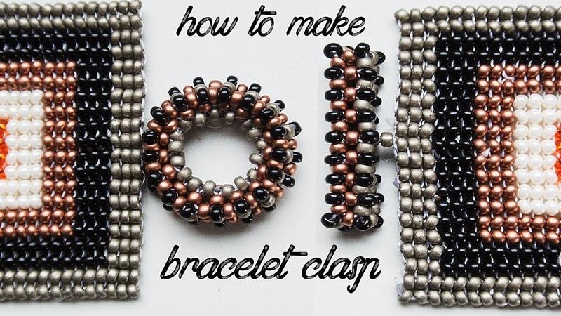How to Make Bracelet Clasp Easy Jewelry Tutorial