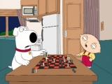 Гриффины-Брайан и Стьюи играют в шахматы